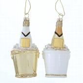 <h4>Deco hanger champagne 2sort H11cm</h4>