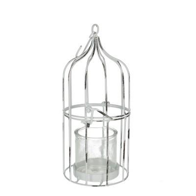 <h4>Homedeco Vogelkooi d15*30cm+glas</h4>