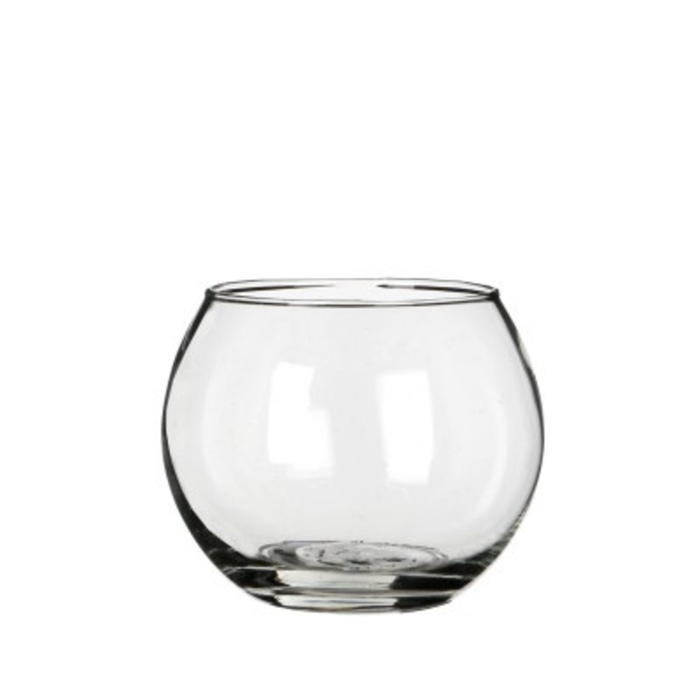 <h4>Glas Kogelvaas d10/7*8cm</h4>