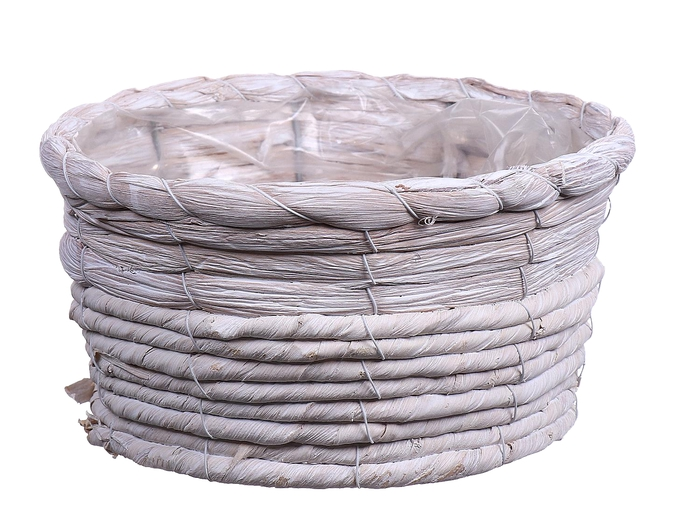<h4>DF550124400 - Basket Timblin4 d20xh10 natural white</h4>