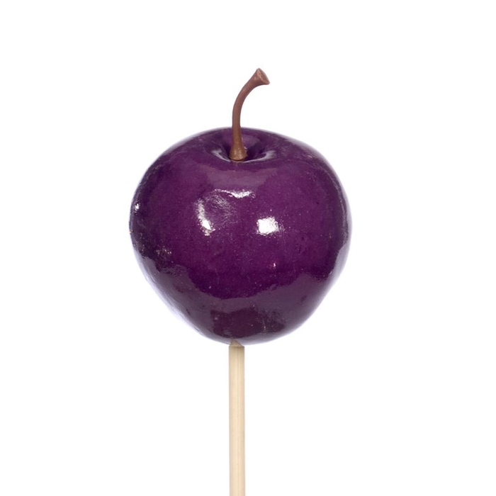<h4>Apple 5cm wax o/s 10pc purple</h4>