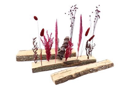 <h4>Base Oak 11 Dried Flowers W7-11 L40.0h3.5</h4>