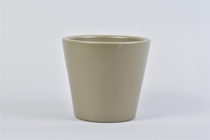 <h4>Vinci Legergroen Pot Container 15x13cm</h4>