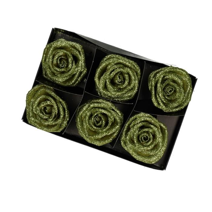 <h4>Sale Wax rose glitter x6</h4>