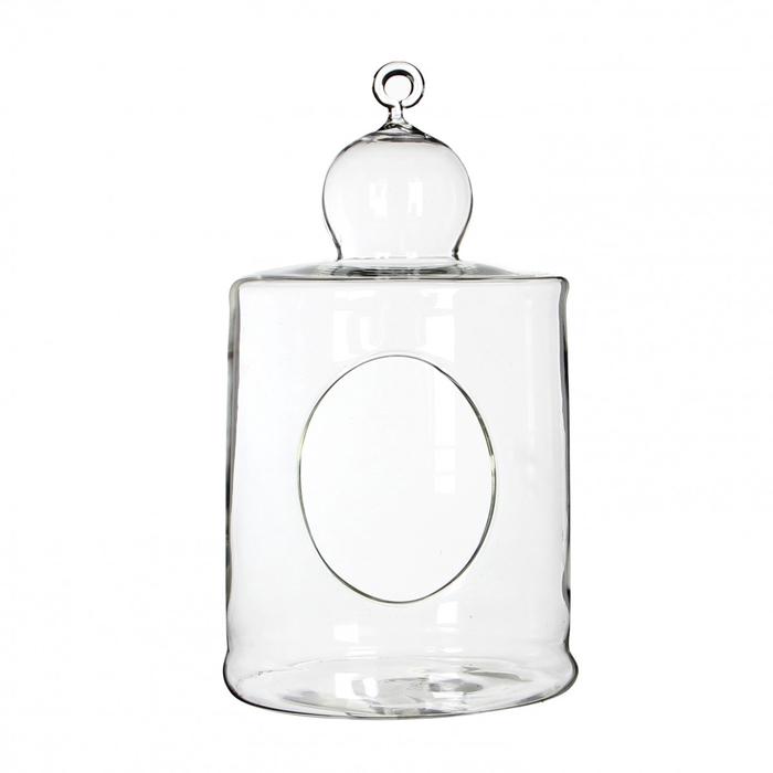 <h4>Glass Cage+hole d12.5*23.5cm</h4>