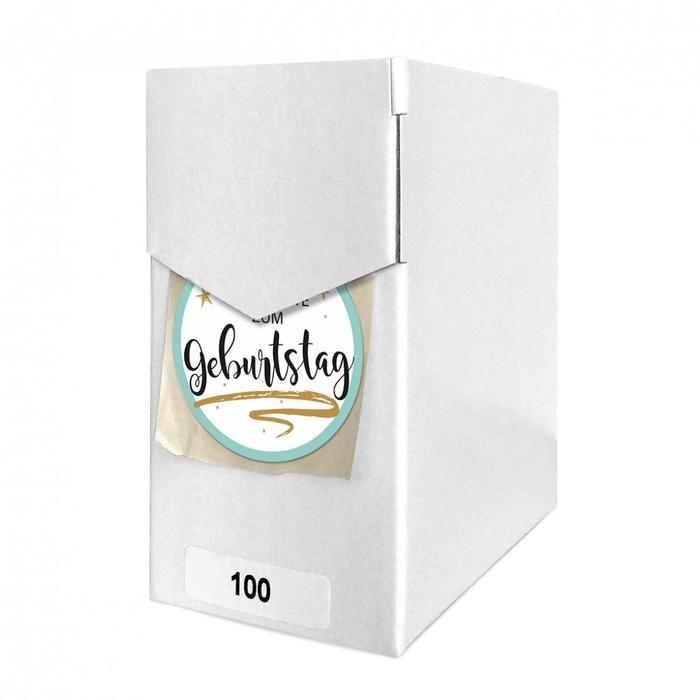 <h4>Labels Sticker 40mm x100 Geburtstag</h4>