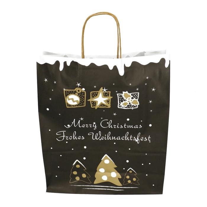 <h4>Christmas Bag deco d35/14*41cm</h4>