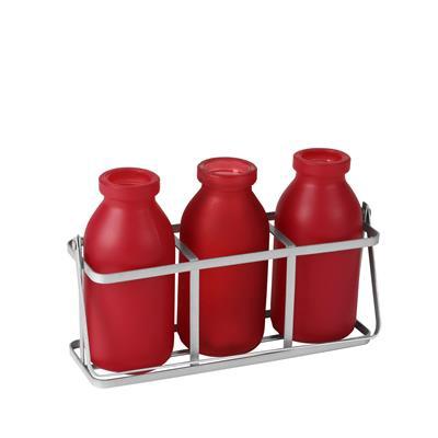 <h4>Rekje durban glas 3 flesjes rood</h4>