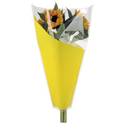 <h4>Housses 40x30x12cm OPP40 Angle jaune</h4>