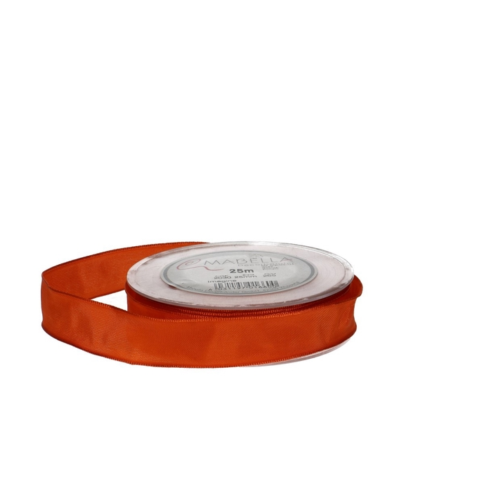 <h4>Ribbon Fabric+wire 25mm 25m</h4>