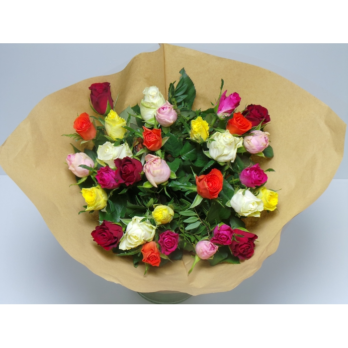 <h4>Bouquet Roses Mixed</h4>