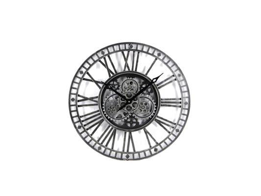 <h4>Clock Gear Open Ø60cm D.grey</h4>