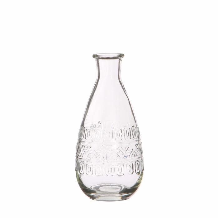 <h4>Glass colour Rome bottle d07.5*16cm</h4>