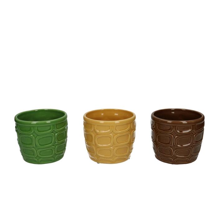 <h4>Ceramics Circles pot d10.5*8.5cm</h4>