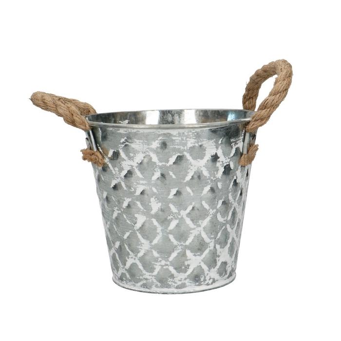 <h4>Zink Bubble pot d13*12cm</h4>