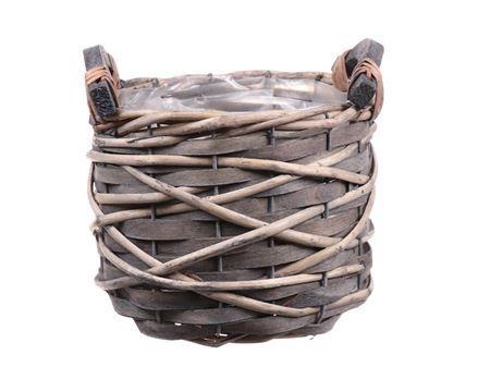 <h4>Basket Trimble5 d16xh13 grey</h4>