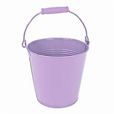 <h4>Bucket Riga zinc ø7,5xH7cm lilac</h4>
