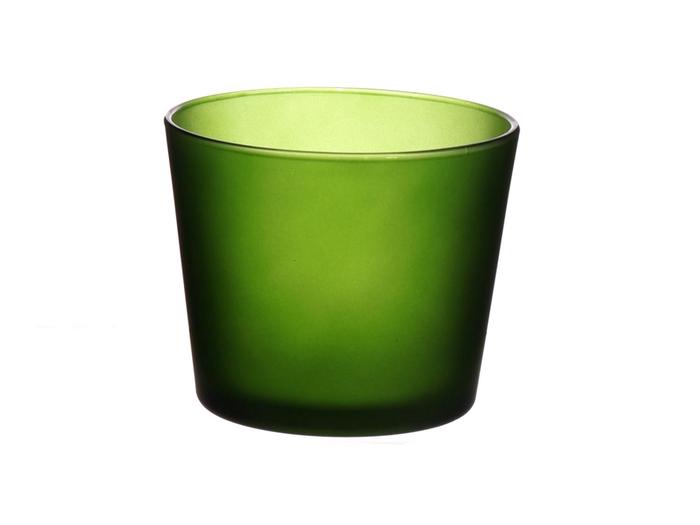 <h4>DF883596900 - Pot Nashville d11.5xh9.5 d.green matt</h4>