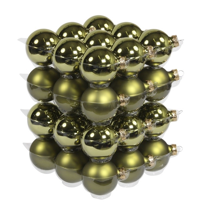 <h4>Christmas bauble Ball 60mm combi x36</h4>