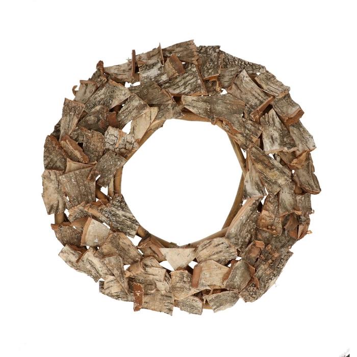 <h4>Krans d40cm Birch brick</h4>
