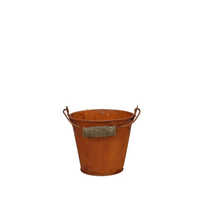 <h4>Zinc Rust bucket d09*8cm</h4>