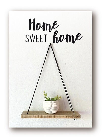 <h4>Labels Kaart 08*6cm x12 Home sweet</h4>