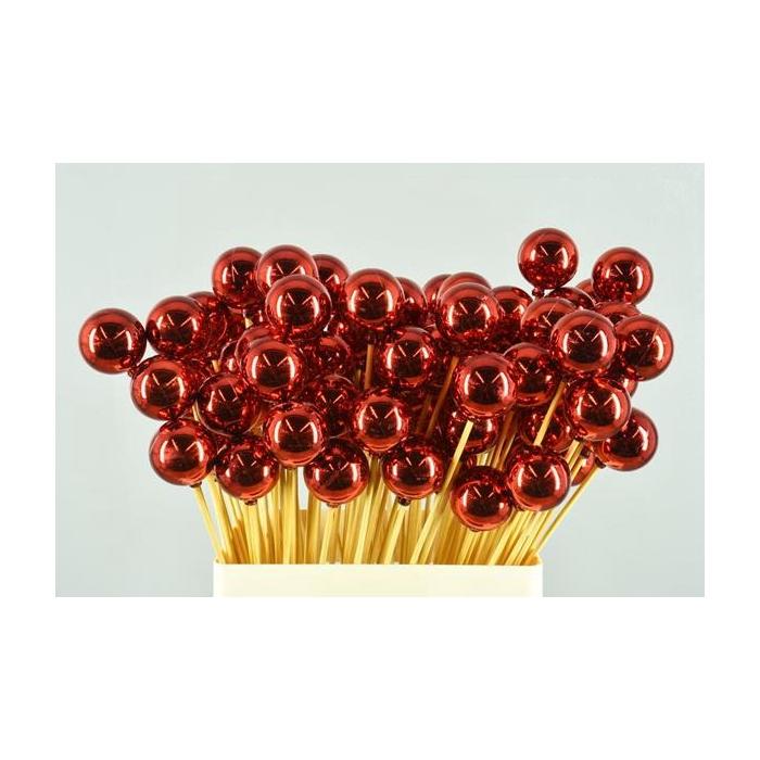 <h4>Stick Ball C. Ø4 Red Shiny</h4>