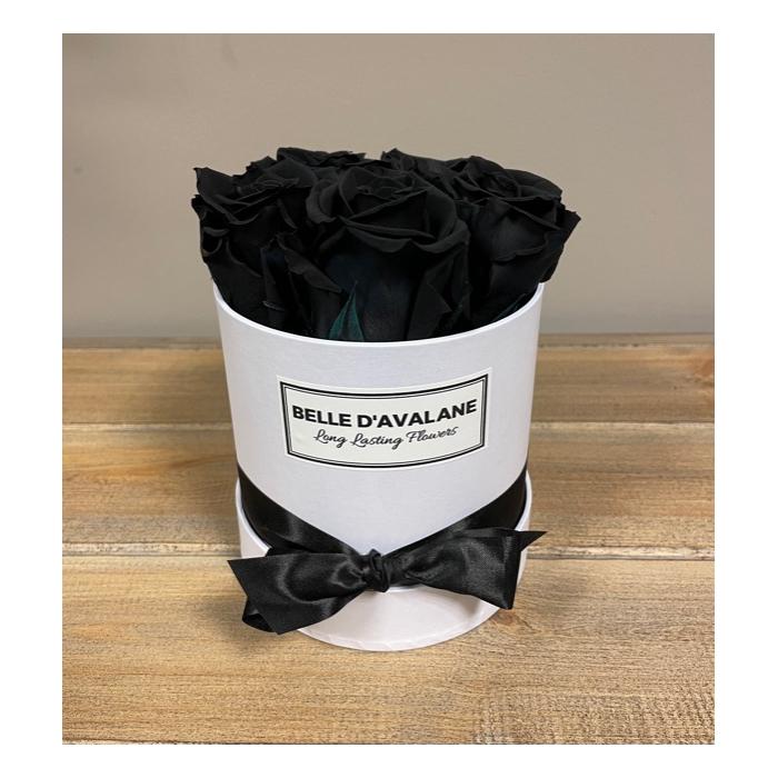 <h4>Box rd 12cm wit-zwart</h4>