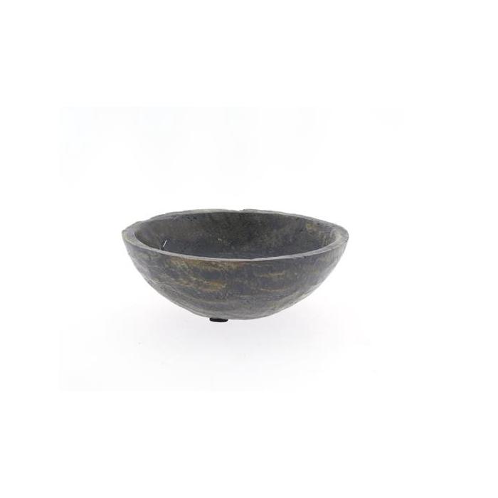 <h4>Bowl Wood Ø20cm Grey</h4>