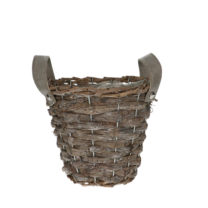 <h4>Baskets Jane pot+handle d16*14cm</h4>