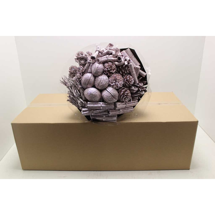 <h4>Bouquet mix 40stems per bq champagne with glitter</h4>