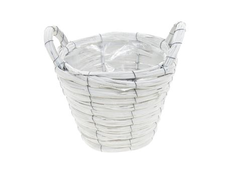 <h4>Basket Paia1 d21xh16 white</h4>