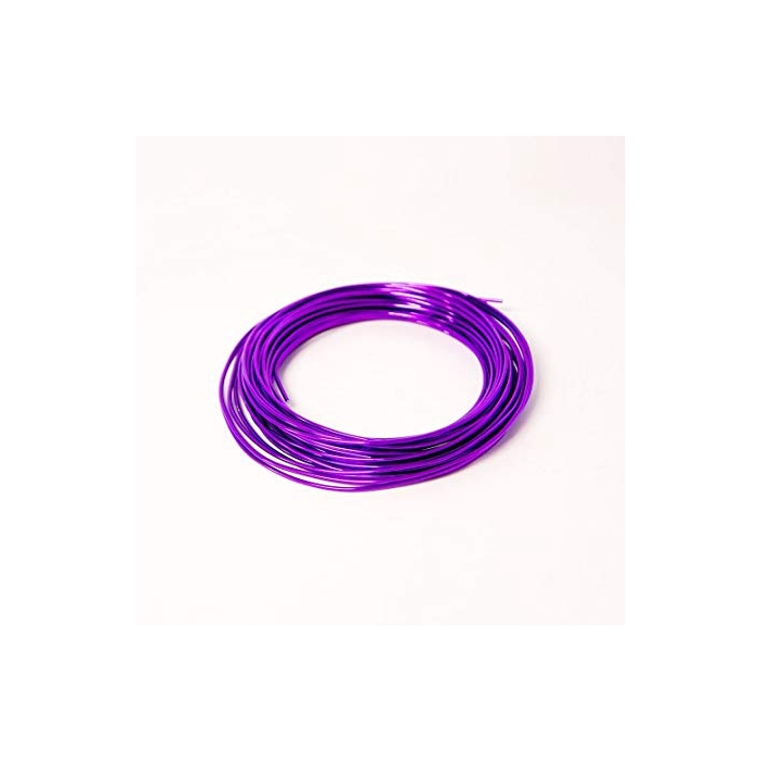<h4>ALUMINIUM WIRE 2MM LILAC 60M 500GR</h4>