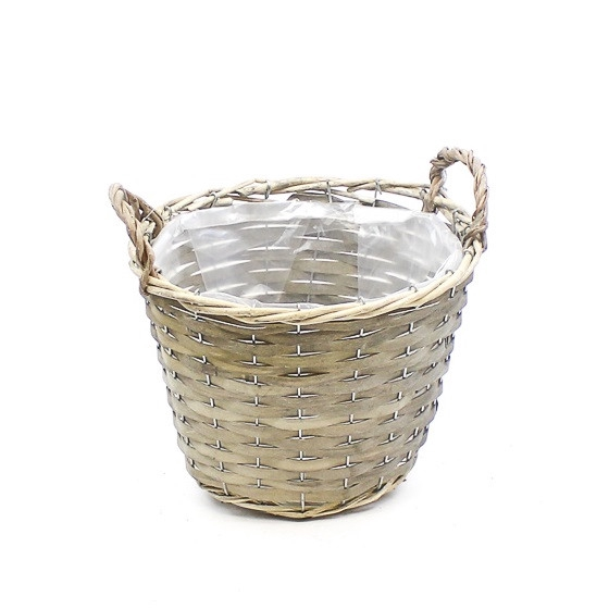 <h4>Baskets Pot Chipwood d25*19/24cm</h4>
