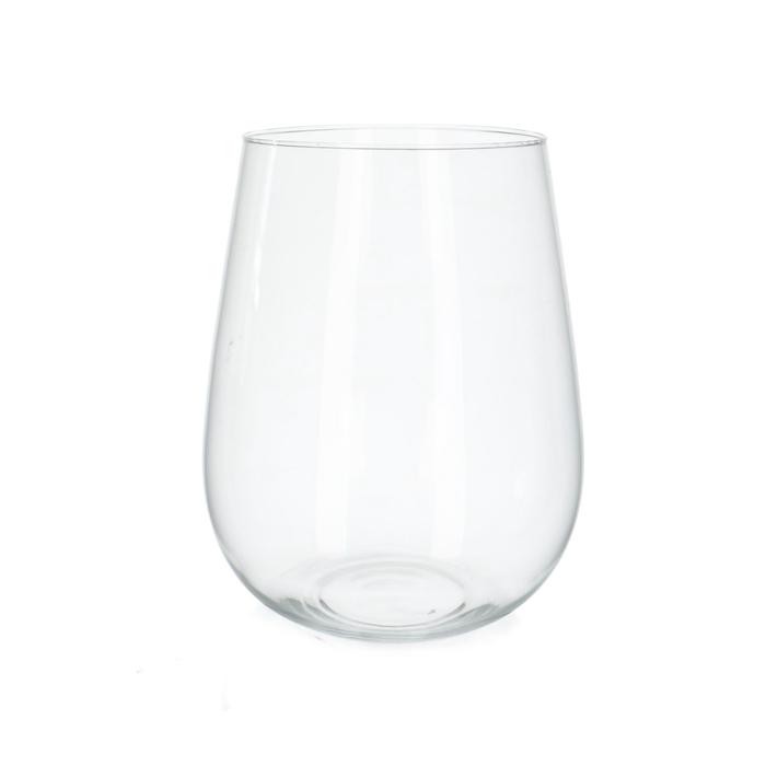 <h4>Glass Ball vase Hugo d20/24*30cm</h4>
