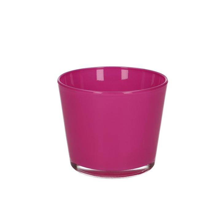 <h4>Glas kleur Pot Nashville d12*10cm</h4>