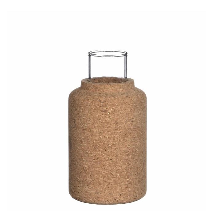 <h4>Glas Kurk fles+buis d4/8*15cm</h4>