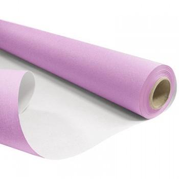 <h4>Papier Rol 80cm 40m 60g Wit/Lila</h4>