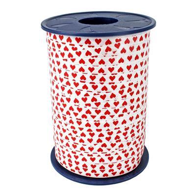 <h4>Curling ribbon 5mm x500m  hearts 600</h4>