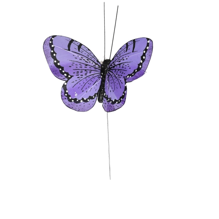 <h4>Autumn Butterfly/wire 10.5cm ass.</h4>