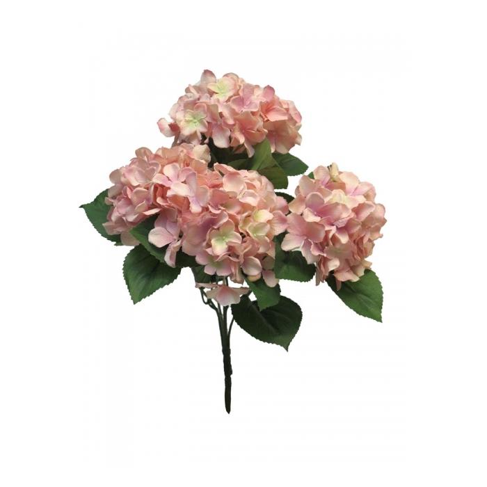 <h4>SILK FLOWERS - HYDRANGEA RABE PINK 45CM</h4>