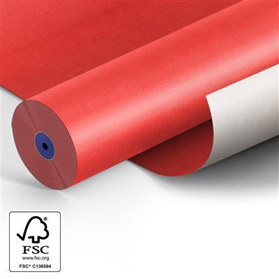 <h4>Papier: 50cm Starkraft wit 50gr Fond d.rood 400m.</h4>