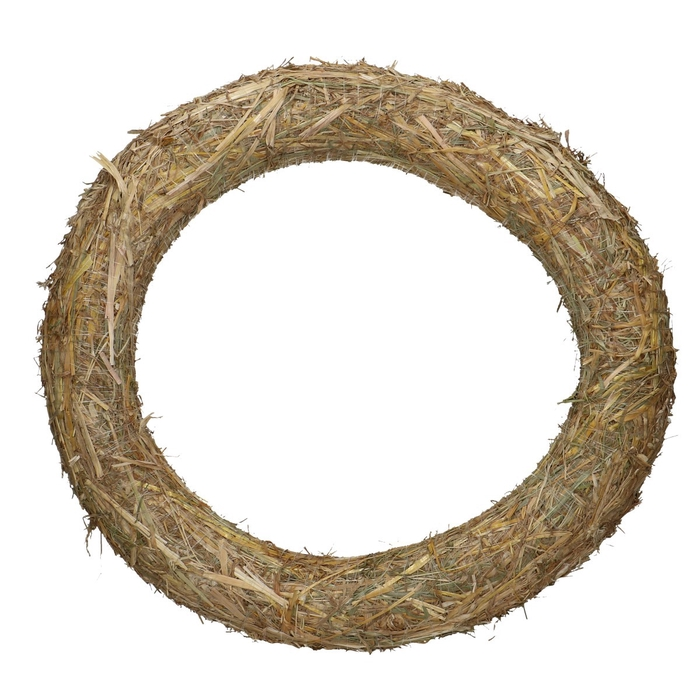 <h4>Wreath d50cm Straw</h4>