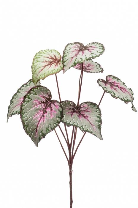 <h4>Silk Begonia leaves spray 60cm</h4>