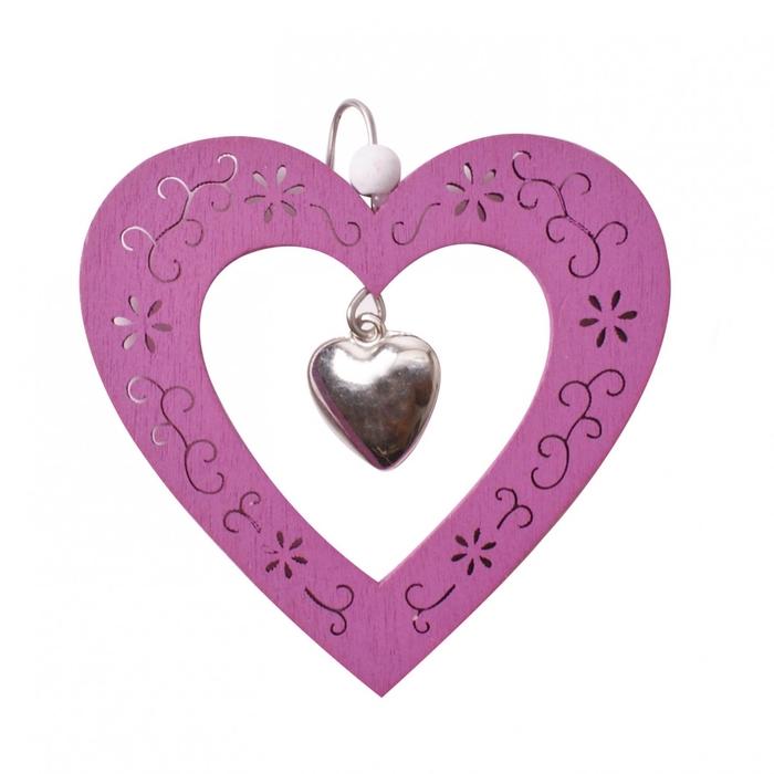 <h4>Liefde Hanger hart 9cm</h4>
