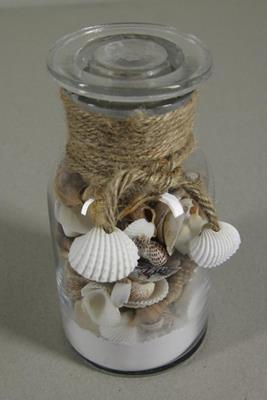 <h4>Shell Mix-glass Bottle Medium</h4>