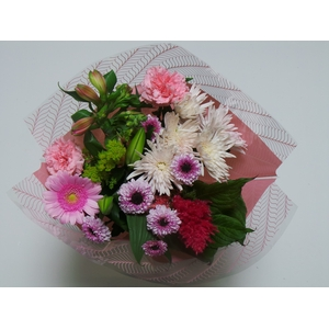 Bouquet 10 stems Pink