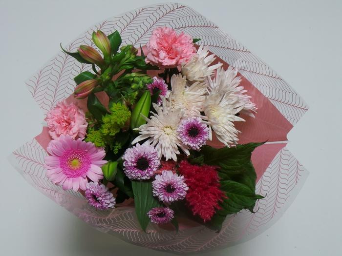 Bouquet 10 stems Pink