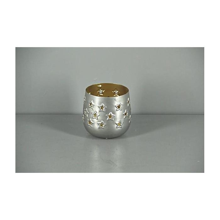 <h4>Lantern Mtl Rnd Nickle/gold 11</h4>