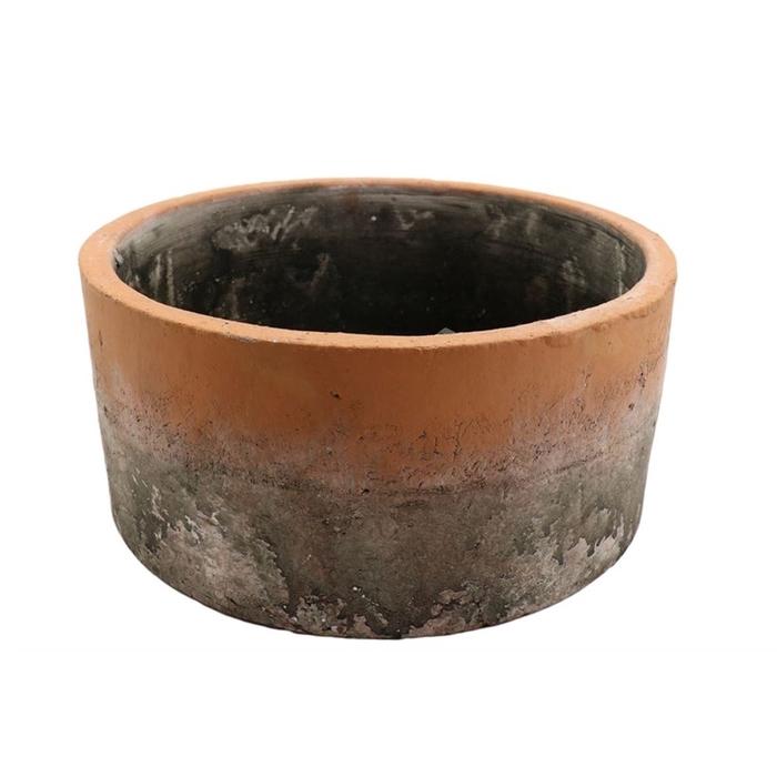 <h4>Ceramics Crema planter d20*9cm</h4>